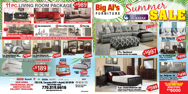 Big Al S Furniture Current Ad